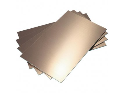 Cuprextit 160x233x1,5mm jednostranný