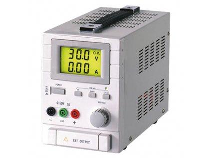 Laboratorní zdroj 30VDC 5A lineární