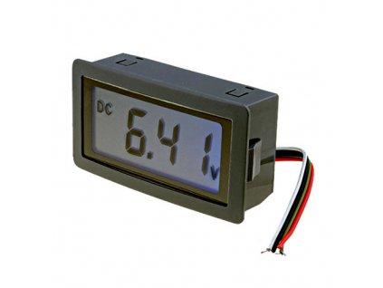 Měřicí přístroj digitální 0-20V LCD