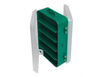 Krabička s přihrádkami oboustranná zelená