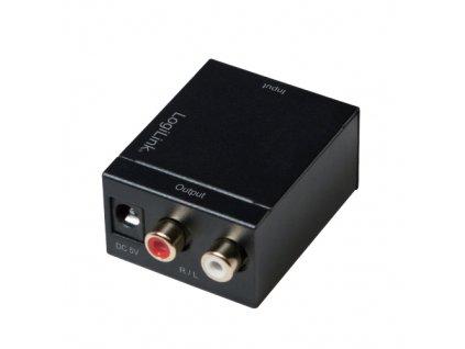Audio převodník SPDIF/COAX na CINCH