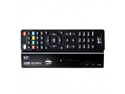 Set top box DVB-T2 HD GoSAT GS220