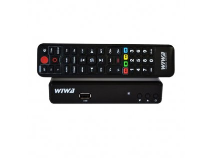Set top box DVB-T2 HD WIWA H.265