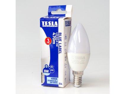 LED žárovka E14 230V 6W 470lm 4000K bílá denní