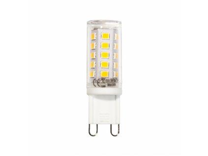 LED žárovka G9 230V 3W 300lm bílá teplá (2 ks)