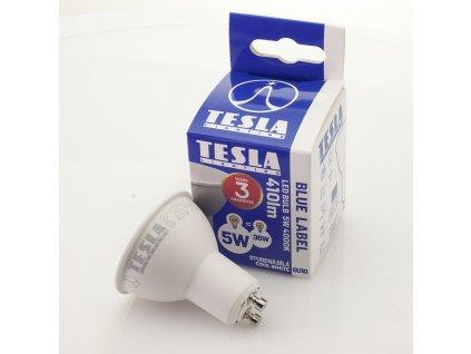 LED žárovka GU10 230V 5W 410lm 4000K bílá denní