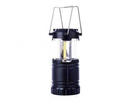 Kempinková svítilna COB LED, 3x AA