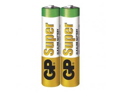 Baterie GP Super LR03 (AAA), fólie (2ks)