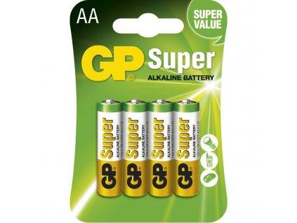Baterie GP Super LR6 (AA), blistr (4ks)