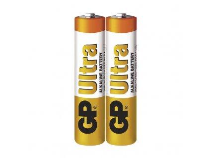 Baterie GP Ultra LR03 (AAA), fólie (2ks)