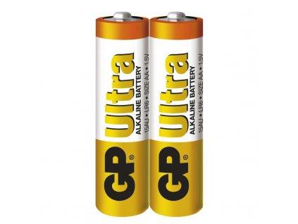 Baterie GP Ultra LR6 (AA), fólie (2ks)
