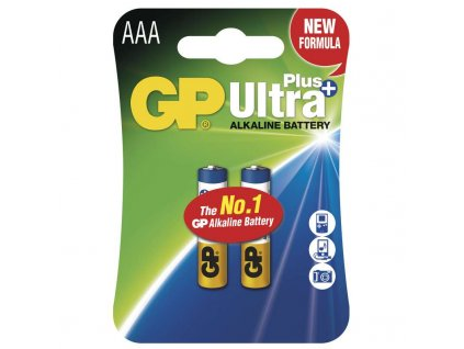 Baterie GP Ultra Plus LR03 (AAA), blistr (2ks)