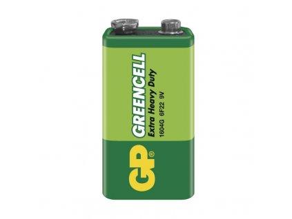 Baterie Greencell 6F22 (9V), fólie