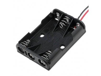 Bateriové pouzdro 3x R3 (AAA) DR