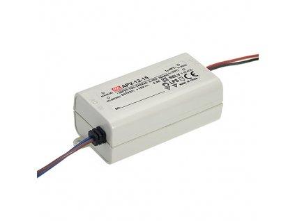 Zdroj spínaný 12VDC 12W APV IP42 vodiče