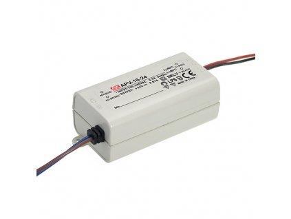 Zdroj spínaný 12VDC 16W APV IP42 vodiče