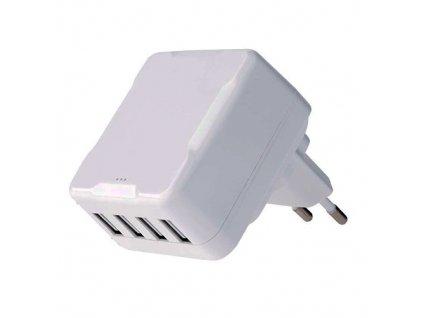 Univerzální duální USB adaptér do sítě SMART 6,8A (34W)