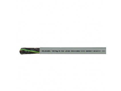 Kabel JZ500-HMHC 4x1,5 šedý