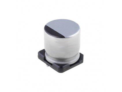 CE 220uF 50V 105°C SMD 10x10mm CD (Low ESR)