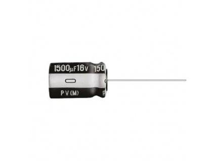 CE 33uF 50V 105°C 6,3x12,5mm UPV (Low ESR)
