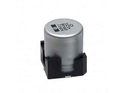 CE 47uF 16V 105°C SMD 6,3x5,2mm MVE