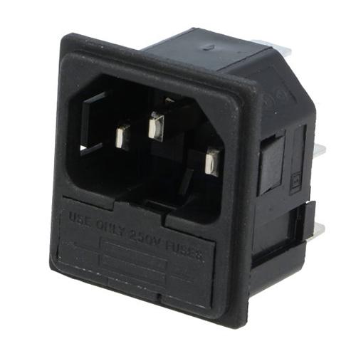 Bulgin Konektor IEC60320 C14 (E) vidlice PF0011