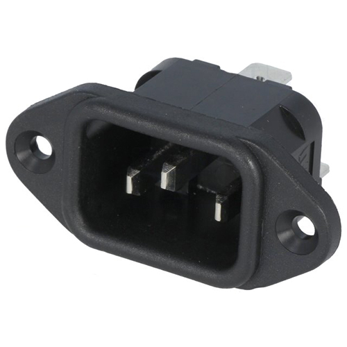 Rong Feng Industrial Konektor IEC60320 C14 (E) vidlice SS-7B