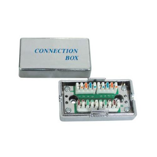 Propojovací box pro kabely C5e narážecí kovový