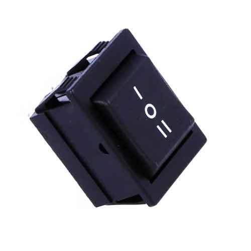 Bulgin Kolébkový přepínač C1570ALM černý