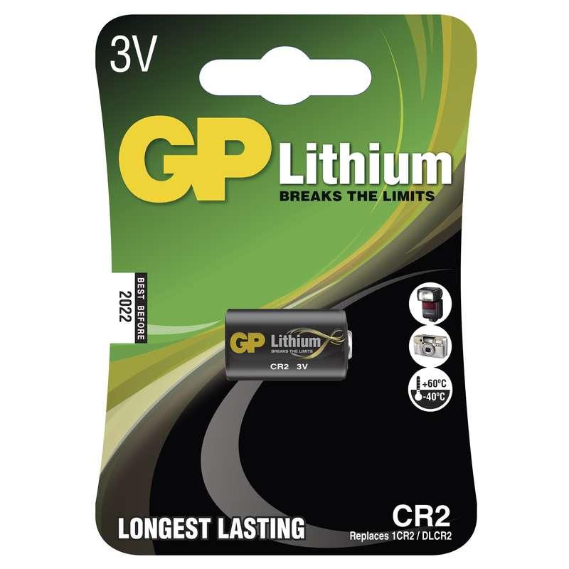 GP Batteries Baterie CR2 3V 850mAh GP