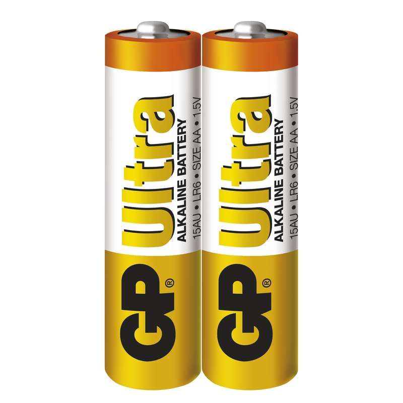 GP Batteries Baterie GP Ultra LR6 (AA), fólie (2ks)