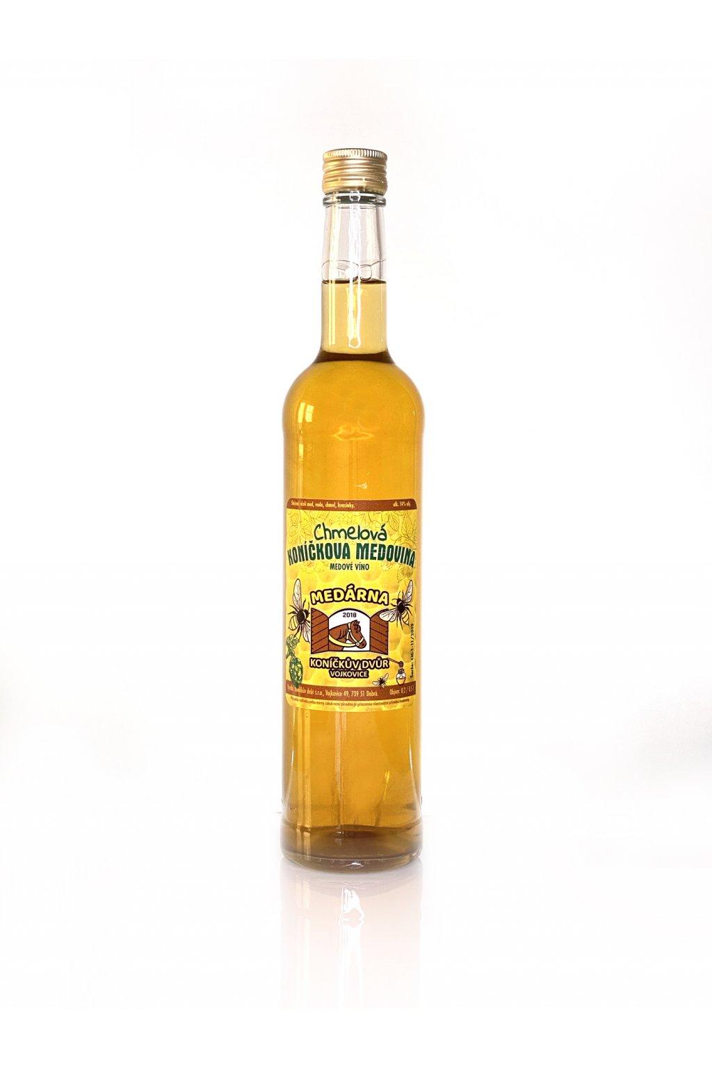medovina chmel 0,5