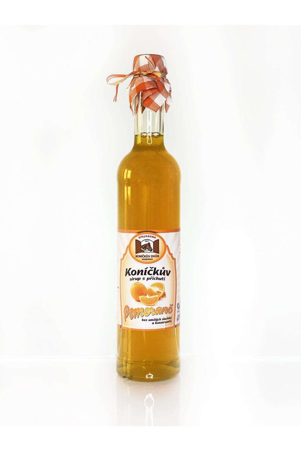 pomeranč 0,5 l