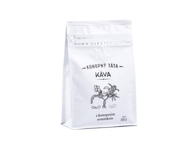 Kava konopna s mletym konopnym seminkem