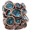 Sparkle Twist - modrá Prsteny - 5450543251684