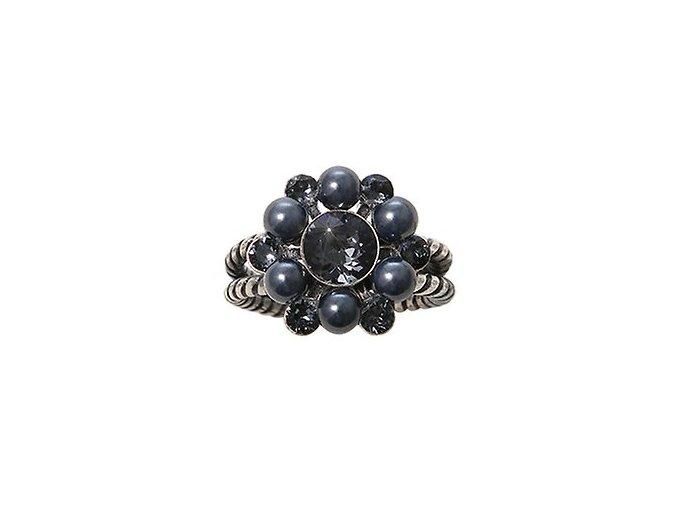 Dutchess - černá Prsteny - 5450543272139
