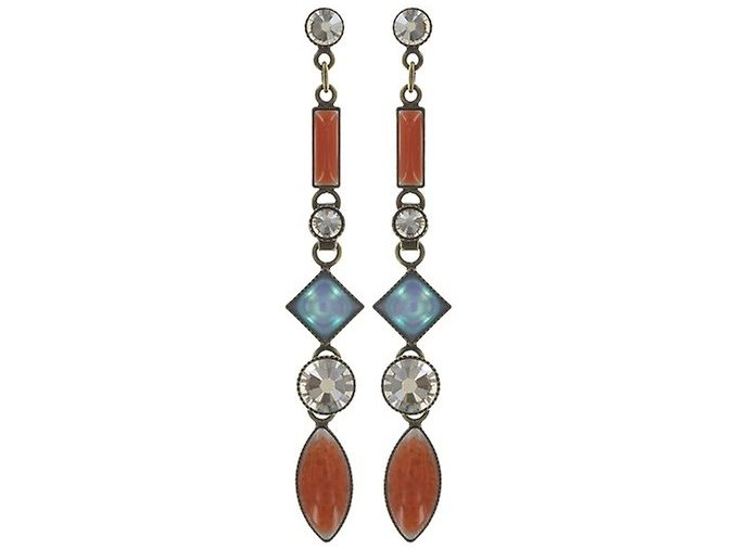 Ethnic Mosaic - multi/více barev Náušnice > Puzety - 5450543106380