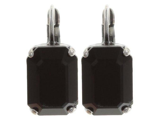 Art Deco Oriental - černá Náušnice > Klasickézapínání - 5450543060354