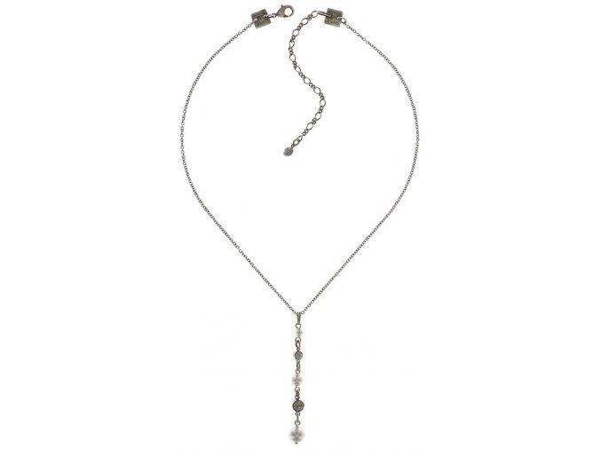 Pearl Shadow - šedivá Náhrdelníky - 5450527506038