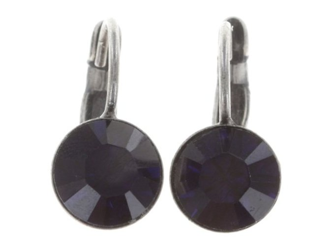 Black Jack - fialová Náušnice > Klasickézapínání - 5450527590396