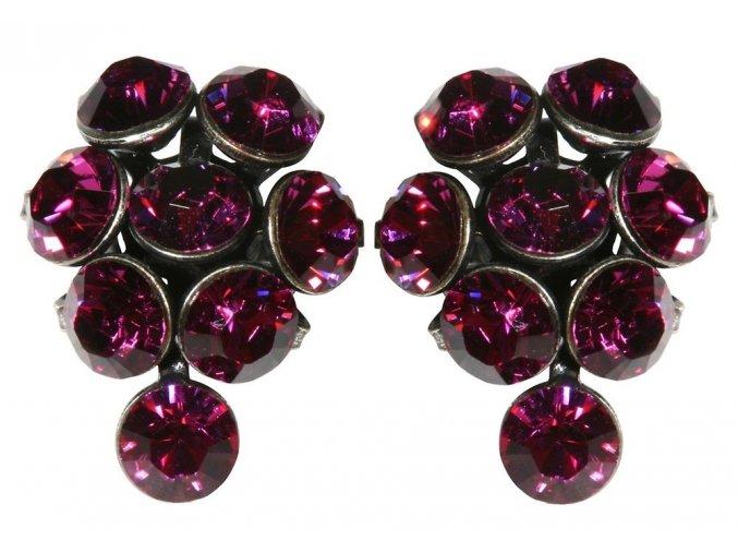 Magic Fireball - růžová Náušnice > Puzety - 5450527611916