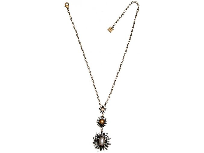 Chrysanthemum - bronz Náhrdelníky - 5450527751056