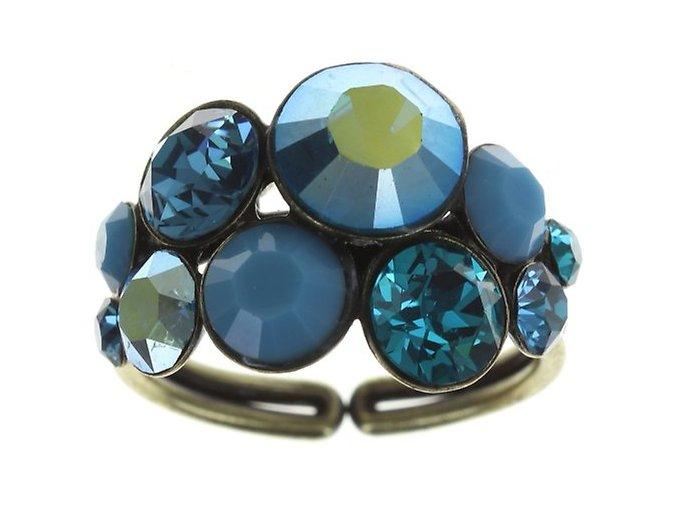 Petit Glamour - modrá Prsteny - 5450527786317