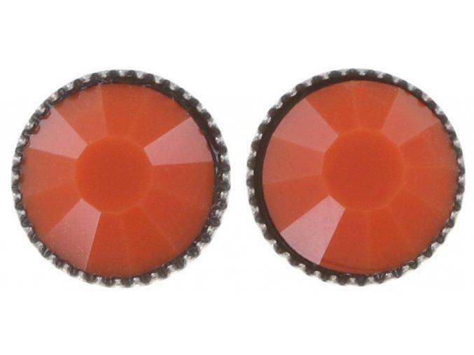 Black Jack - červená Náušnice > Puzety - 5450527798457