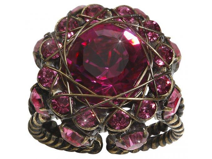 70´s Circles - růžová Prsteny - 5450527963312