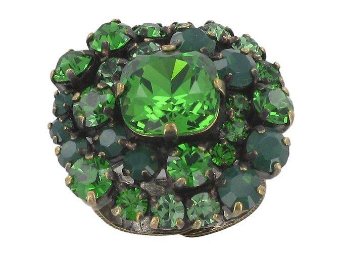 Las Vegas - zelená Prsteny - 5450527976411