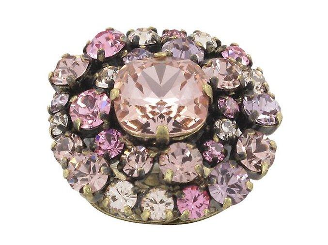 Las Vegas - růžová Prsteny - 5450527986045