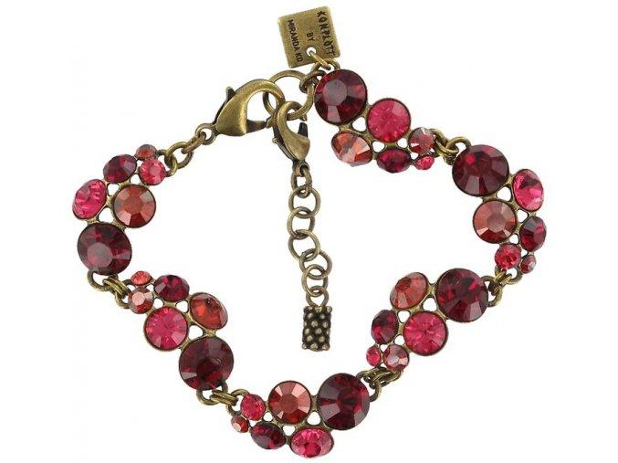 Petit Glamour - červená Náramky > Klasické - 5450543054490