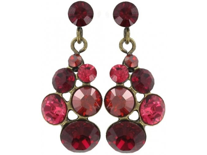 Petit Glamour - červená Náušnice > Puzety - 5450543054513