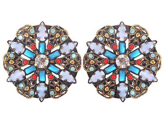 Yoga Californica - multi/více barev Náušnice > Klasickézapínání - 5450543066516